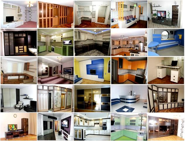 Все виды корпусной мебели на заказ.