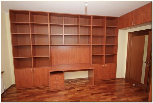 Кабинет с библиотекой