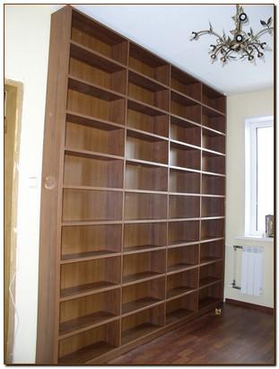 Книжные шкафы открытые