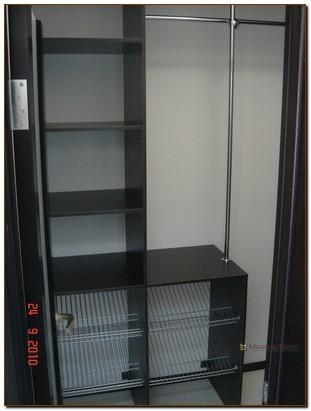 Гардеробные комнаты с корпусным наполнением