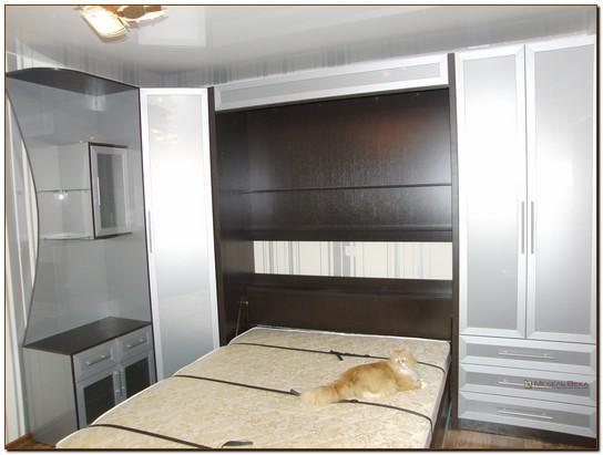 Подъёмные кровати в составе гарнитура