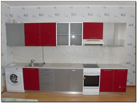 Кухни модерн прямые большие