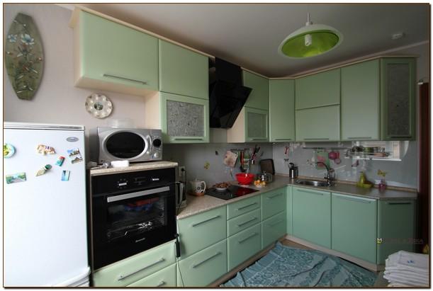 Кухни модерн угловые большие