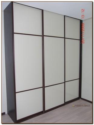 Встроенные шкафы с открытой боковиной