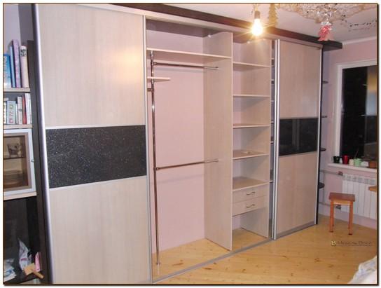 Гардеробные шкафы с корпусным наполнением