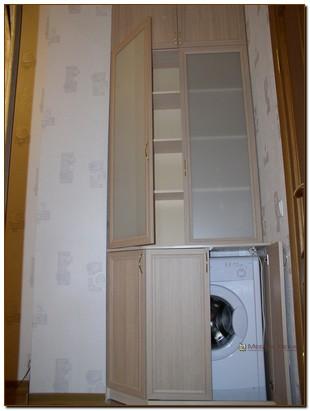 Частично встроенные шкафы
