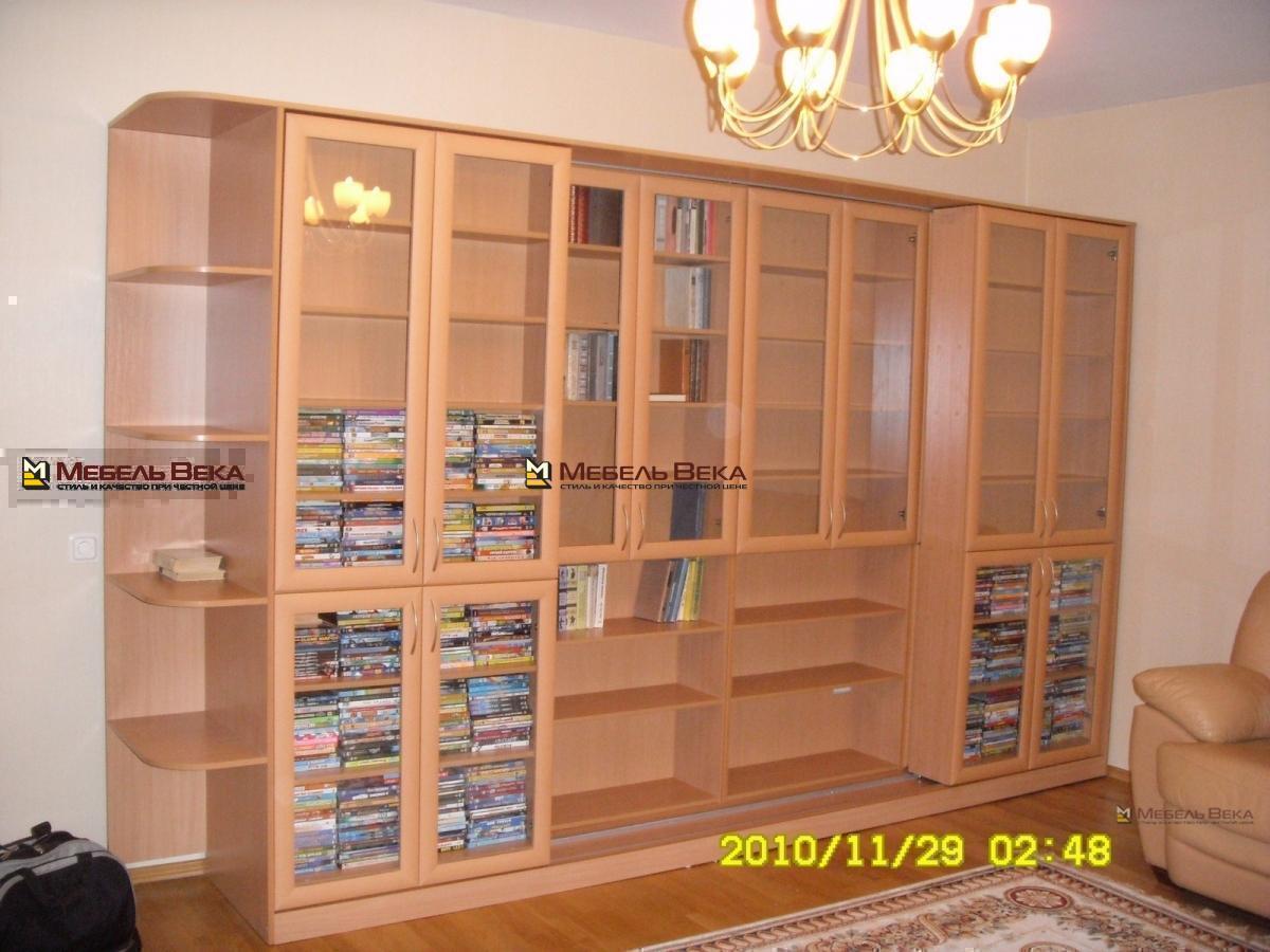 Галерея - библиотеки изготовление корпусной мебели на заказ .