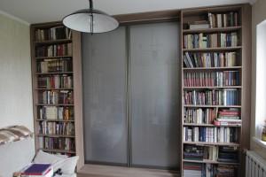03 библиотека раздвижная  на заказ