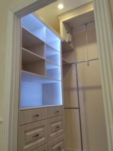 гардеробная комната - красиво и технологично