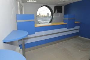 11 офисная мебель на заказ ресепшн