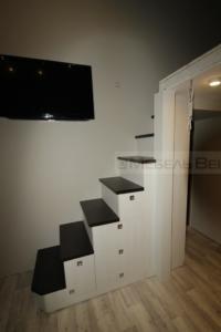 50 лестница-шкаф оригинальная