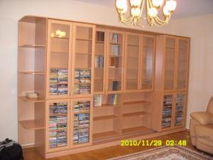 10 раздвижная библиотека на заказ