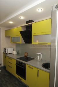 42 кухня модерн жёлтая