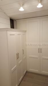 01-1 шкафы распашные модерн белые